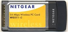New NIB Netgear 54 Mbps Wireless PC Card WG511 v2  -  100 Feet Coverage