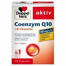 DoppelHerz Active Coenzyme Q10 + B Vitamins & Zinc 30 Capsules *GERMANY*