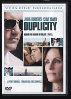EBOND Duplicity con Julia Roberts, Clive Owen DVD  EX NOLEGGIO D559141