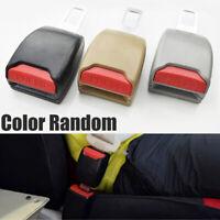 2x Auto Car Safety Seat Belt Buckle Clip Adjustable Extension Extender Random