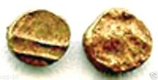One World's Smallest Gold Coin of Vijayanagar Empire,India Hindu Empire, Tiny