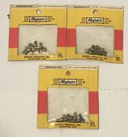 NOS Vintage Mapsco Screw Assortment 3 Pack, Youngstown Ohio