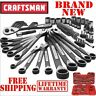 CRAFTSMAN 56pc PIECE Universal Mechanics TOOL SET Metric SAE w CASE