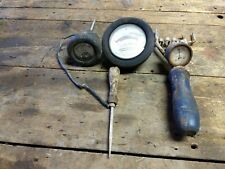 Vintage Lead Acid Battery Cell Tester Electra Chargeometer tool steampunk