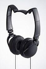 mix-style nekomimi headphones Star Cosplay Costume Cat Ear Black F/S