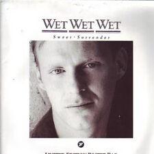 Wet Wet Wet, Sweet Surrender, NEW/MINT UK 7 inch vinyl single in poster sleeve