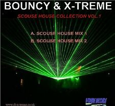 BOUNCY & X-TREME VOL.1 SCOUSE HOUSE MIX CD *LISTEN*