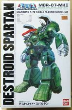Bandai Robotech Macross Robot 1/72 Attack Destroid Spartan model kit