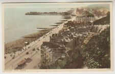 Sussex (East) postcard - Hastings from Castle - P/U 1935 (A648)