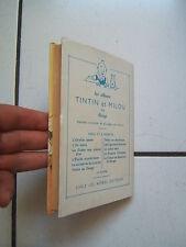 JACQUETTE LES ALBUMS DE TINTIN /  LA COMTESSE DE SEGUR / UN BON PETIT DIABLE