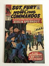 Sgt. Fury and His Howling Commandos #35 (1966) Very Good/Fine