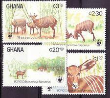 Ghana 1984 - MNH - Dieren / Animals WWF/WNF