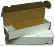 200 Cardboard Storage Boxes - Hold 800 Cards in each box - 4 Bundles