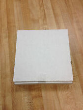 "50 NEW 1 1/8"" WHITE CORRUGATED CARDBOARD CD MAILERS SALES LEAD BOX"