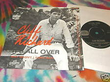 "CLIFF RICHARD -IT'S ALL OVER -ORIGINAL 7"" HOLLAND-K@@L"
