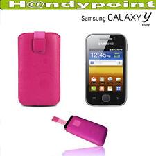 Samsung Galaxy Y S5360 Slim  Handy Tasche Etui Hülle Case Cover Schutzhülle Pink