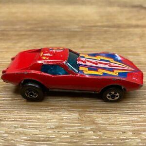 Hot Wheels 1975 Corvette Stingray Red Mattel Vintage