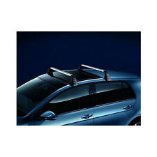 NEW Genuine VW Volkswagen Golf MK7 Hatch 2x Roof Rack Bar Set T-Groove 5G4071126