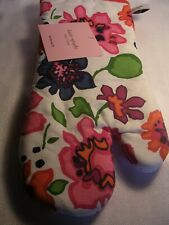 New listing Kate Spade New York Flower Oven Mitt !00% Cotton New With Tags
