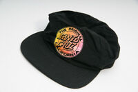 Santa Cruz The original Skateboards Big Dot Cap Black Black/Fluro Cali Fade