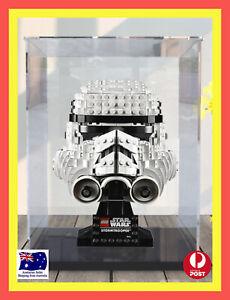 LEGO Star Wars™ Stormtrooper™ Helmet 75276 Acrylic Display Box. [AU STOCK]
