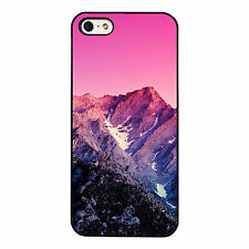 Pink mountains phone case fits iPhone