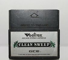 1982 Vectrex Clean Sweep Arcade System Cartridge, Only