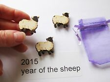3 cute sheep fridge,memo,decor magnets + gift bag. Great little gift idea!