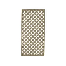 Grigliato in legno 180 x 120 traliccio naturale grezzo per esterno recinzione