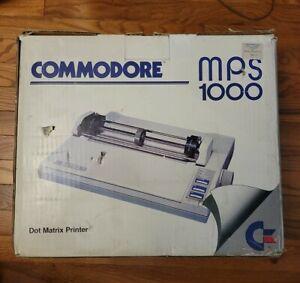 Vintage Commodore MPS 1000 Dot Matrix Printer