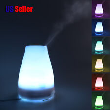 100ML 7 Colors Change LED Ultrasonic Aroma Diffuser Air Humidifier Mist Maker