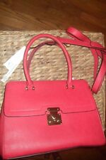 New With Tags red La Terre Fashion women's Purse  10x14x6