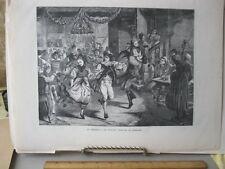 Vintage Print,HARVEST FESTIVAL,Germany,Graphic,1870