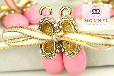 H159 Cute Pink Ballet Shoe Pendant Charm Wholesale (3pcs)
