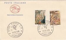 Italia 1976 FDC 1358-59 Natale