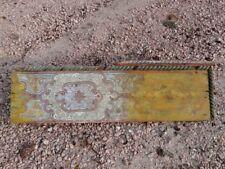 Pannello ligneo decorato sec. XVIII - Artigianato marocchino