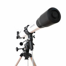 Visionking 80mm Refractor Astronomical Telescope Star Planet Finder Eq Mount