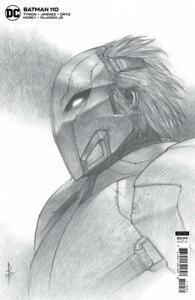 BATMAN #110 INC 1:25 RICCARDO FEDERICI CARD STOCK VAR ~ DC ~ PRESALE 7/6
