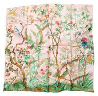 ELEGANT HANDMADE BRAND 100%Twill Silk Scarf TWIC-190108A