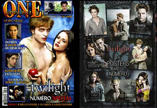 One Magazine Twilight Special Dedication + Posters Robert Pattinson