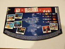 Gutschein - 50% für bis 5 Personen Legoland SeaLife Gardaland Heidepark Dungeon