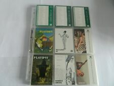 VERY RARE PLAYBOY CENTREFOLD COLLECTOR CARDS MAY EDITION - FULL SET(120)