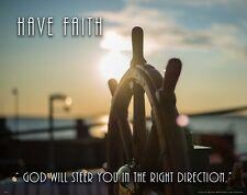Religious Inspirational Poster Art Print Decor Church Christian Faith God RELG39
