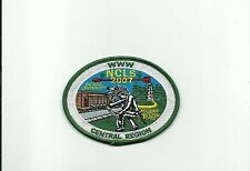 SCOUT BSA 2007 OA CENTRAL REGION NCLS INDIANA UNIVERSITY HOOSIER FOREST PATCH !!