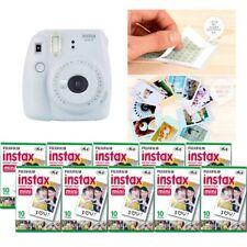 Fujifilm Instax Mini 9 Camera Smokey White 10 Packs Fuji Film 100 Photo 8