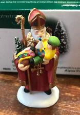 Dept 56 Alpine Village Accessory ~ St Nicholas ~ Mint In Box, #56203, Retired