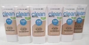 CoverGirl Clean Matte BB Cream CHOOSE YOUR SHADE 510 520 530 540 550 560
