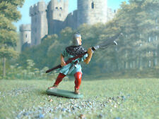 Vintage Medieval Airfix French man at arms with pike  1:35 painted