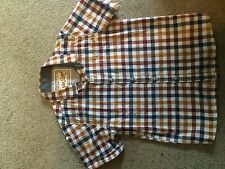 Next Boys' Checked Cotton Blend Formal Shirts (2-16 Years)