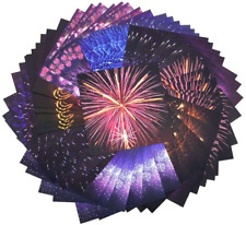 Origami Paper, 140 Sheet Firework Folding Origami Paper Stars Pack for Fold Kids